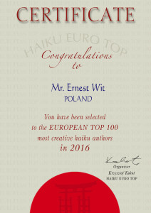 Ernest Wit euro top 2016