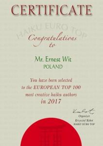 Ernest Wit 2017